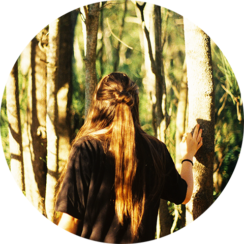 woman-forest-roue-medecine